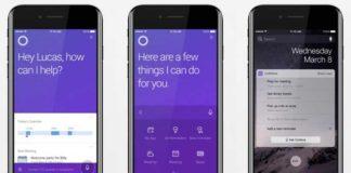 Cortana 2.0 for iPhone
