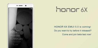 Honor 6X Android 7.0 Nougat update