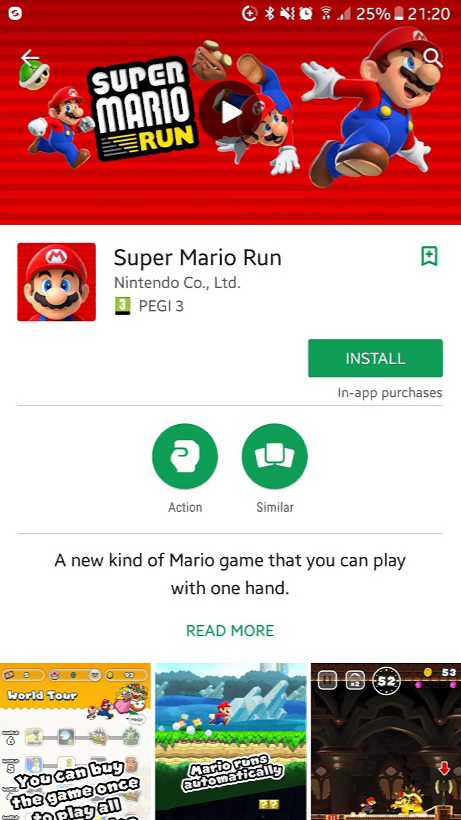 super-mario-run for android