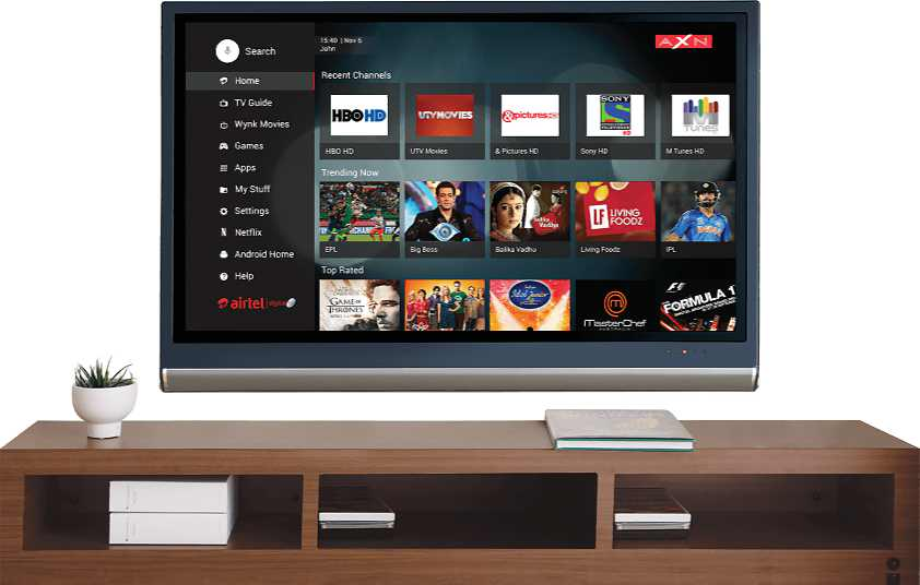 Airtel Internet TV box 2