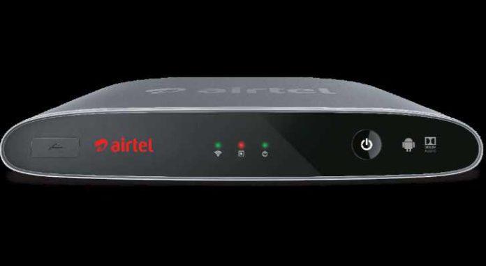 Airtel Internet TV box