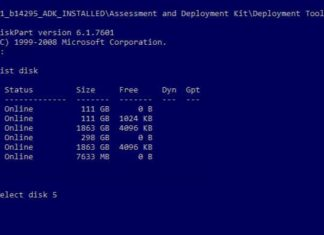 Create multiple partitions on a USB drive with Windows 10