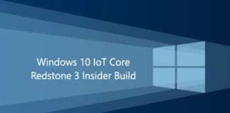 Windows-10-IoT-Core build