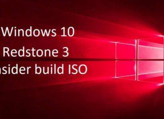 Download Windows 10 Redstone 3