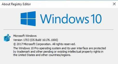 Windows 10 build 16176