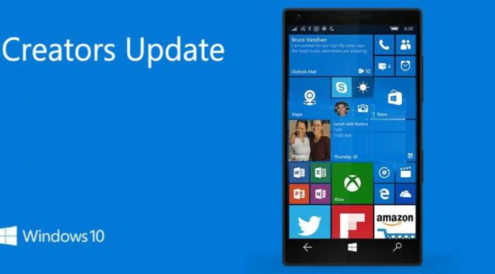 Windows 10 Mobile Creators Update build 10.0.15063.251