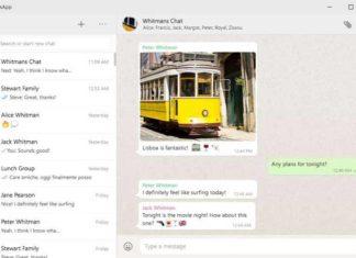 Whatsapp desktop app for windows-10