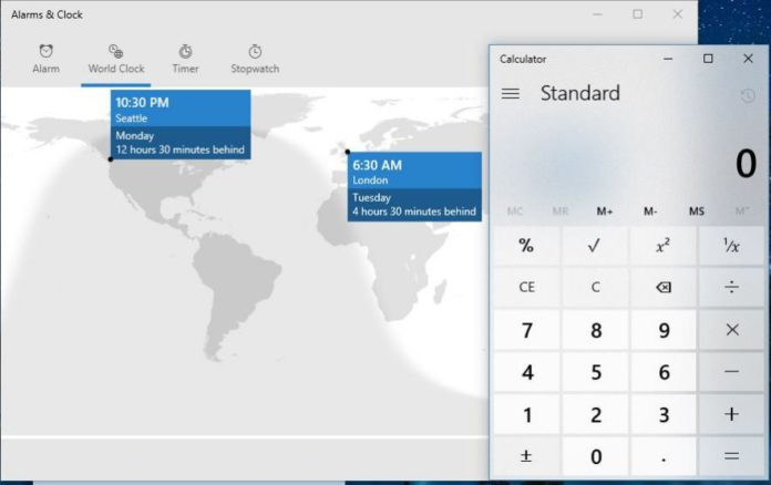 alarms&Clock-Windows-10