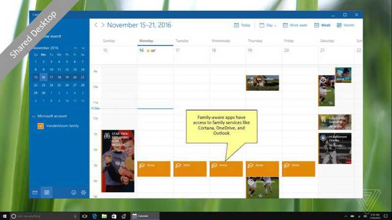 Windows 10 HomeHub