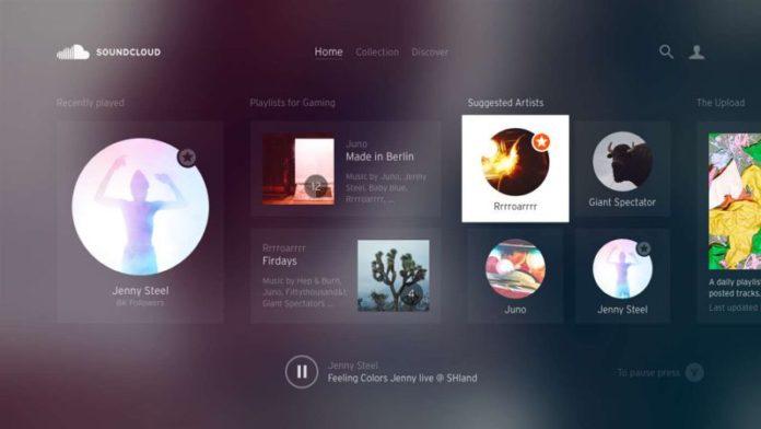 soundcloud for Windows 10-sihmar