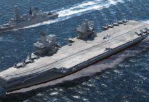 HMS Queen Elizabeth- Sihmar
