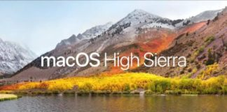 Apple macOS High Sierra sihmar