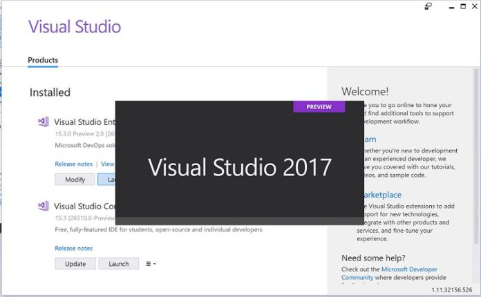 Visual Studio 2017 - Sihmar.com