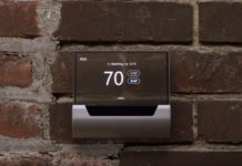 GLAS thermostat built by Johnson Controls