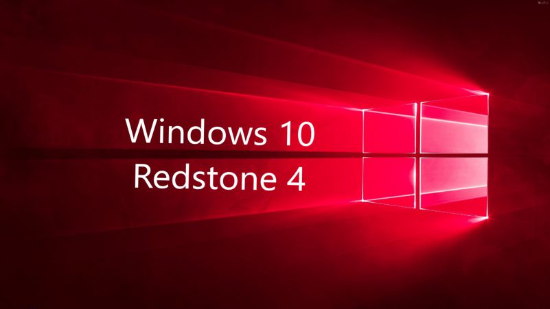 Windows 10 redstone 4 build update-sihmar