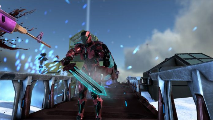 ARK update 1.44 PS4 adds the Tek Shield and Tek Sword