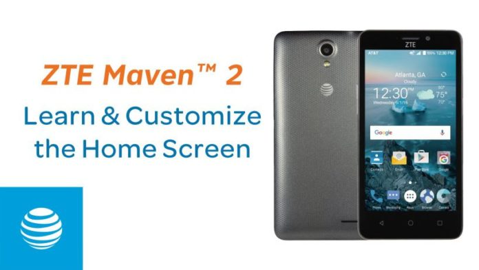 Android 7.1.1 Nougat update Z831V1.0.0B29 for ZTE Maven 2