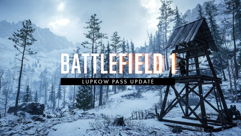 Battlefield 1 Lupkow Pass Update Sihmar