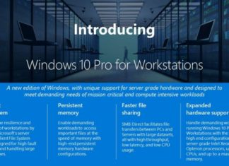 Windows 10 Pro for Workstations Sihmar