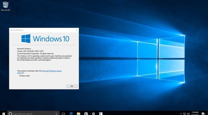 Windows 10 build 14393.1537 KB4038220 Sihmar