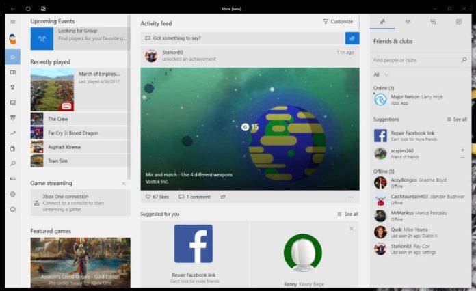 Xbox One Beta app update sihmar