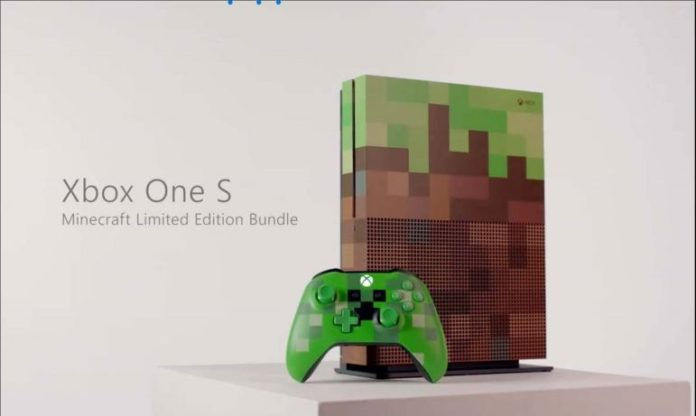 Xbox One S Minecraft Limited Edition Bundle Image Sihmar