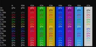 console-colors