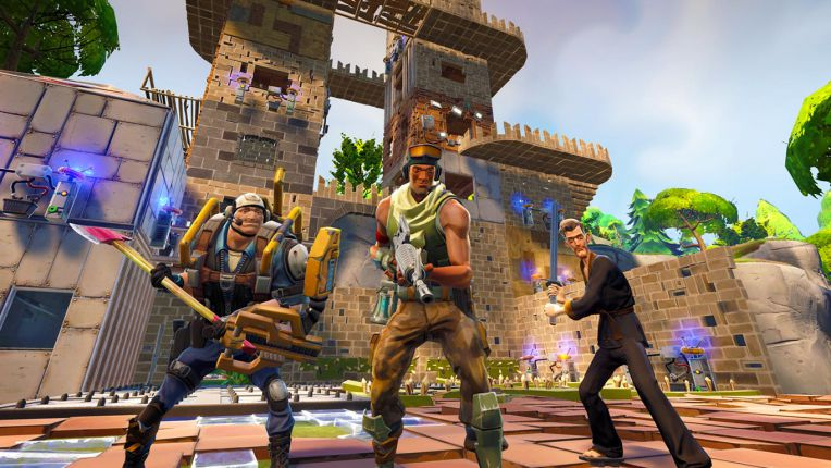 fortnite-update-1.4.3 for PS4 and Xbox One Sihmar