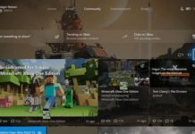 Xbox One Fall Creators Update