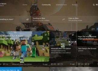 Xbox One Fall Creators Update