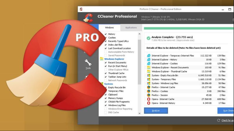 CCleaner Software for Windows Infected