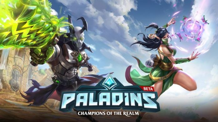 Paladins update for PS4 and Xbox One