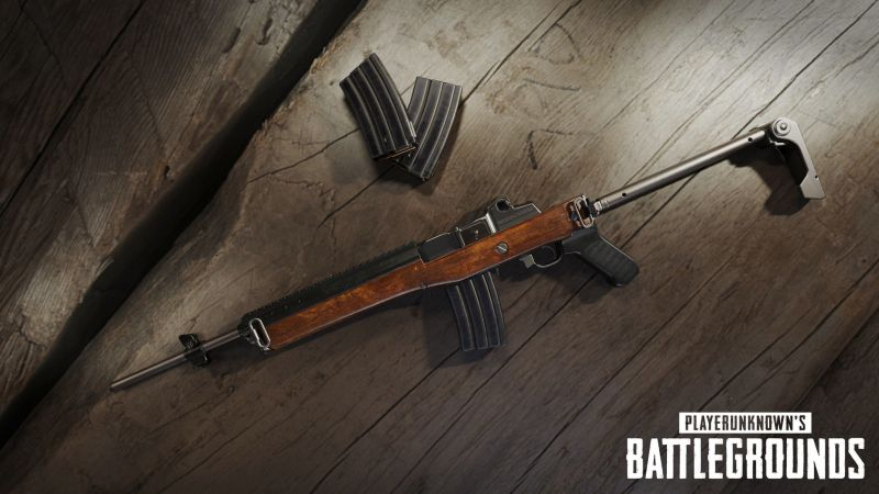 Playerunknown's Battlegrounds September Update new weapon