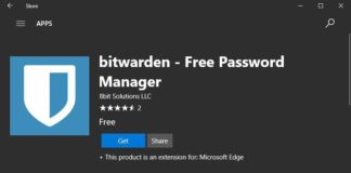 bitwarden - Free Password Manager for Microsoft Edge
