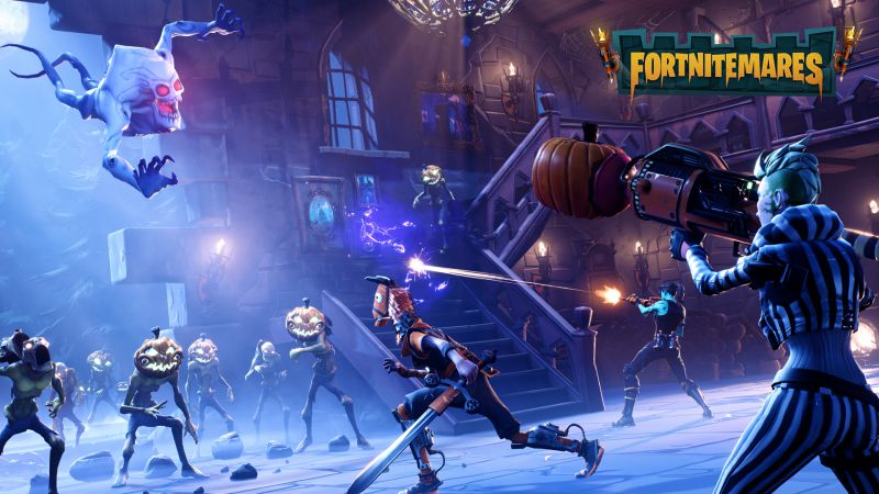 Fortnite 1.24 PS4