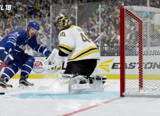 NHL 18 update 1.05 PS4 and Xbox One
