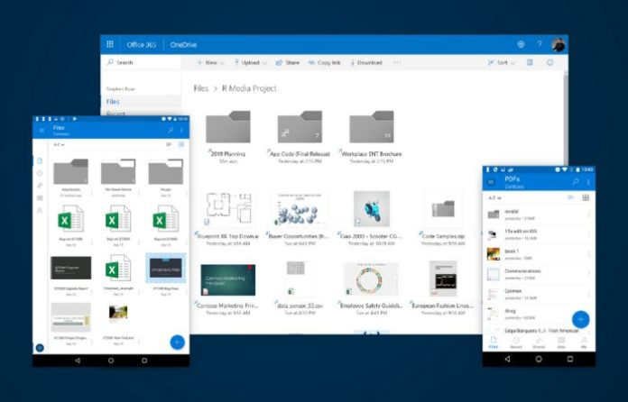 OneDrive's refreshed new look