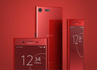 Red Xperia XZ Premium