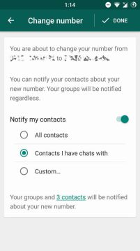 WhatsApp 2.17.373 beta