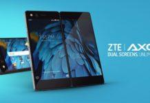 ZTE Axon M Dual Screens Phone