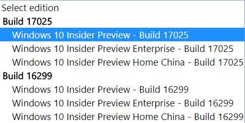 Build 17025