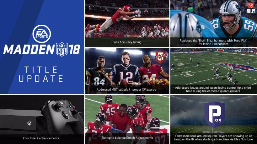 Madden NFL 18 update 1.06