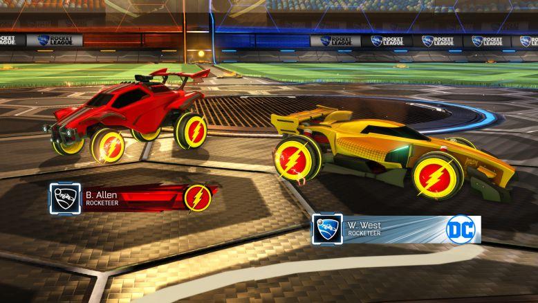 Rocket League Collector's Edition Flash Wheels