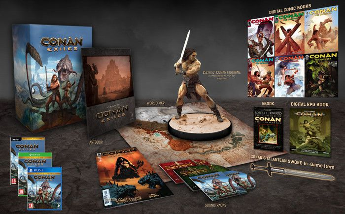Conan Exiles LIMITED COLLECTOR'S EDITION PS4 Xbox One Sihmar
