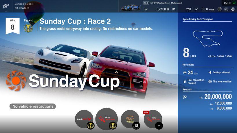 Gran Turismo Sport update 1.10