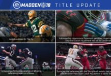 Madden NFL 18 Update 1.08 Patch Notes