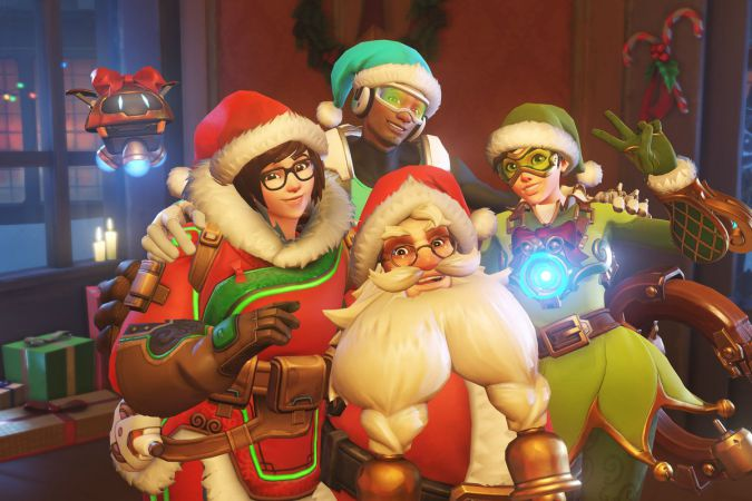 Overwatch 2.25 Update Winter Wonderland Sihmar