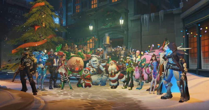 Overwatch Update 2.25 Winter Wonderland Patch Notes-Sihmar