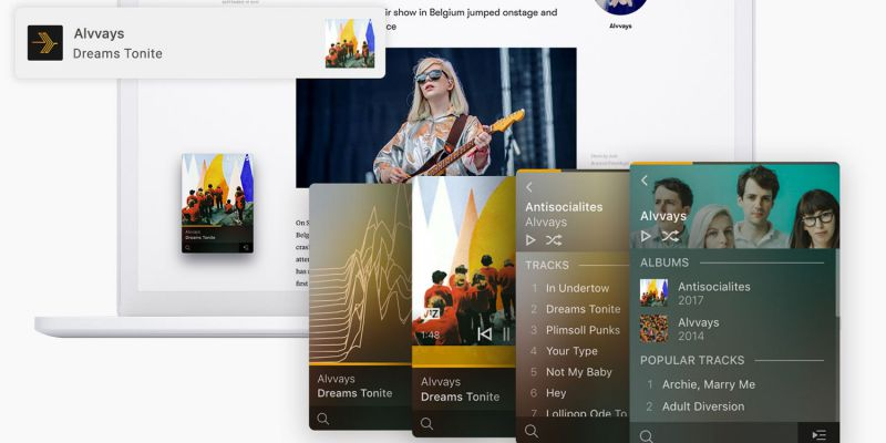 Plexamp music player now available for download on macOS and Windows