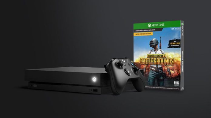 Xbox One X and get free PlayerUnknown's Battlegrounds Game - Sihmar